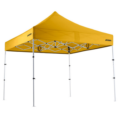 3X3 Marquee - 29mm PREMIUM STEEL Compact Version - Stock Marquee + Full sublimated canopy - Includes Decoration CCS29N_ALT