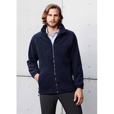 Mens Plain Micro Fleece Jacket (PF630_BIZ)