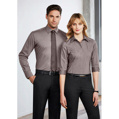 Ladies Chevron 34 Sleeve Shirt S122LT_BIZ