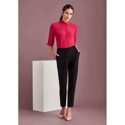 Womens Bandless Elastic Waist Pant 10722_BZC
