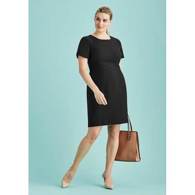 Womens Short Sleeve Dress 30112_BZC