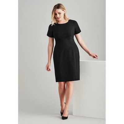 Womens Short Sleeve Dress 34012_BZC