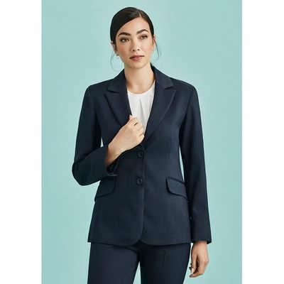 Womens Longline Jacket 60112_BZC