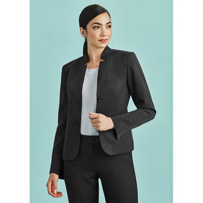 Womens Short Jacket with Reverse Lapel 60113_BZC