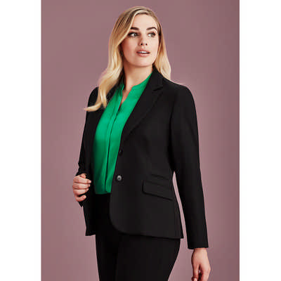 Womens Two Button Mid Length Jacket 60719_BZC