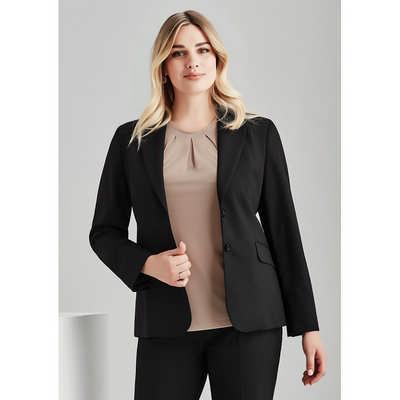 Womens Longline Jacket 64012_BZC