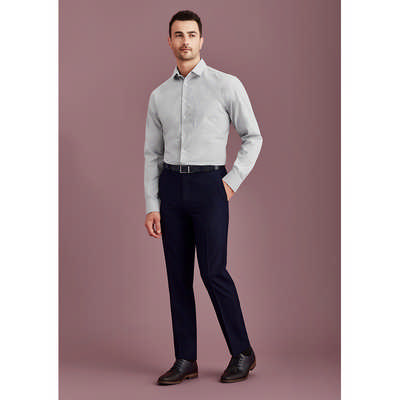 Mens Slim Fit Flat Front Pant Stout 70716S_BZC