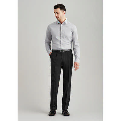 Mens One Pleat Pant Regular 74011R_BZC