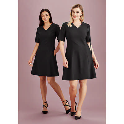 Womens Siena Extended Sleeve Dress RD974L_BZC