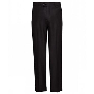 Bracks Trouser Flat Front TRFFB331_BKS
