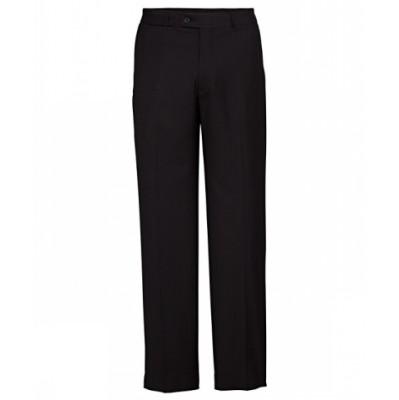 Bracks Trouser Flat Front TRFFB405_BKS