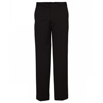 Bracks Trouser Flat Front TRFFB411_BKS