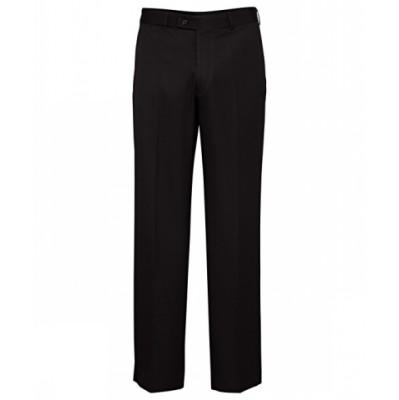 Bracks Trouser Flat Front TRFFB421_BKS