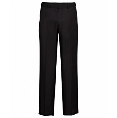 Bracks Trouser Flat Front, TWILL TRFFB64_BKS