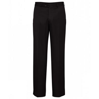 Bracks Trouser Flat Front TRFFB835_BKS