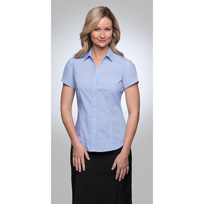 City Stretch Pinfeather - Short Sleeve 2266_CITYC