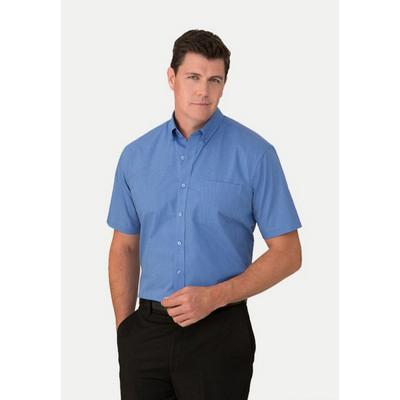 Micro Check Shirt Short Sleeve 4102SS_CITYC