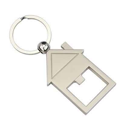 House Bottle Opener Key Ring (KRB011_DEX)