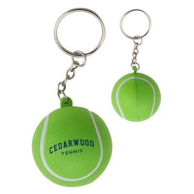 Stress Tennis Ball Keyring (SKR016_DEX)