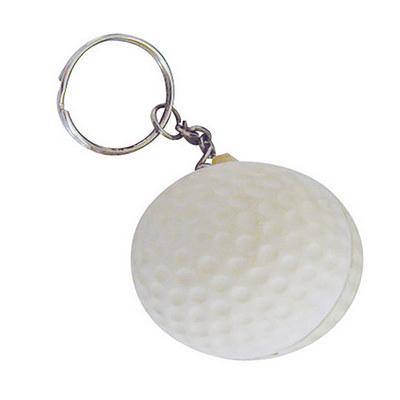 Stress Golfball Keyring (SKR017_DEX)