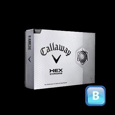 Callaway Hex Chrome - Golf Balls (CGB-C13-HC-3_DGOLF)
