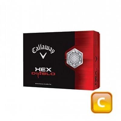 Callaway Hex Diablo - 45 Day Lead Time - 3 ball sleeves - Golf Balls (CGB-C13-HD-45-3_DGOLF)
