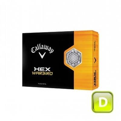 Callaway Hex Warbird - 3 ball sleeves - Golf Balls (CGB-C13-HW-3_DGOLF)