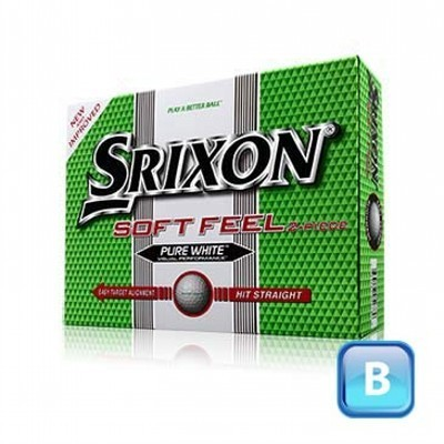 Srixon Soft Feel - 1 ball boxes - Golf Balls (CGB-S12-SF-1_DGOLF)