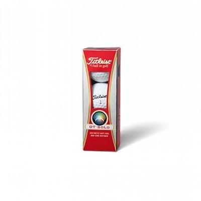 Titleist Dt Solo - 3 Ball sleeves - Golf Balls (CGB-T12-DTS-3_DGOLF)