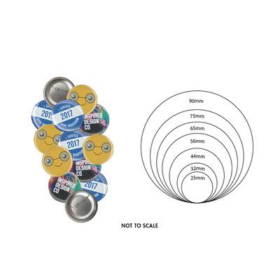 25mm Button Badge   (BB001_EZI)