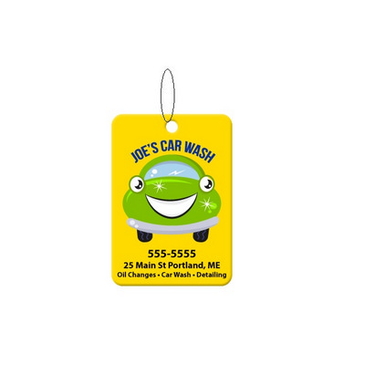 Air Freshener Rectangle Shape (AF003_EZI)