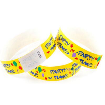 Tyvek Eziband Wristband - Party (WBTYVPARTY_EZI)