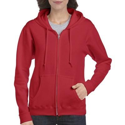 Gildan Heavy Blend Ladies Full Zip Hooded Sweatshirt Colours (18600FL_COLOURS_GILD)