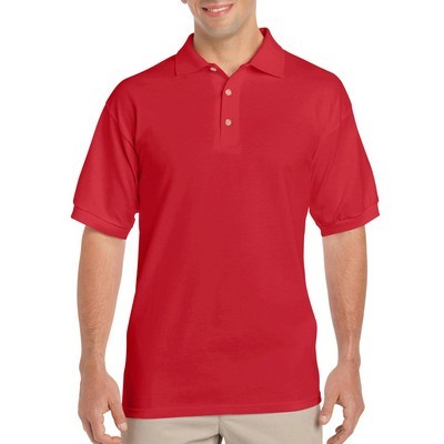 Gildan Ultra Cotton Adult Jersey Sport Shirt White (2800_WHITE_GILD)