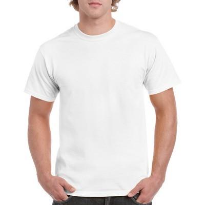 Gildan Heavy Cotton Adult T-Shirt White (5000_WHITE_GILD)