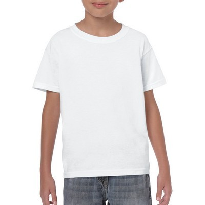 Gildan Heavy Cotton Youth T-Shirt White (5000B_WHITE_GILD)