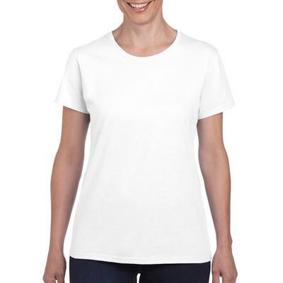 Gildan Heavy Cotton Ladies T-Shirt White (5000L_WHITE_GILD)