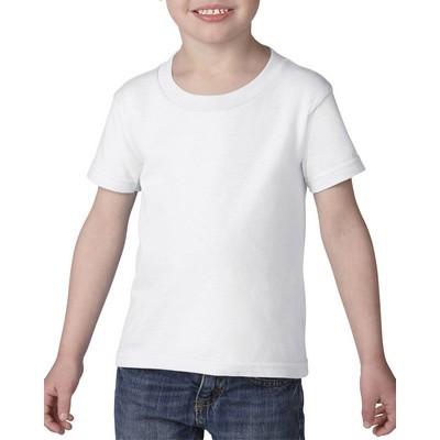 Gildan Heavy Cotton Toddler T-Shirt White  (5100P_WHITE_GILD)