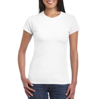 Gildan Softstyle Ladies T-Shirt White (64000L_WHITE_GILD)