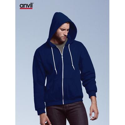 Anvil Adult Full-Zip Hooded Fleece Colours (71600_COLOURS_GILD)