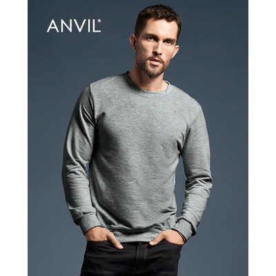 Anvil Adult Crewneck French Terry (72000_COLOURS_GILD)