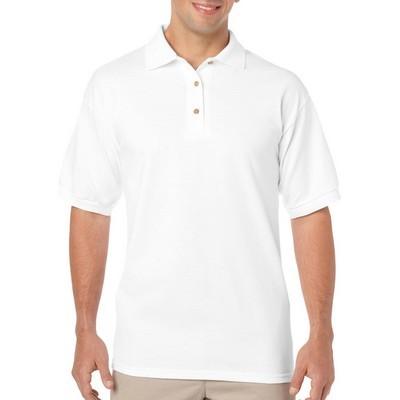 Gildan DryBlend Adult Jersey Sport Shirt White (8800_WHITE_GILD)