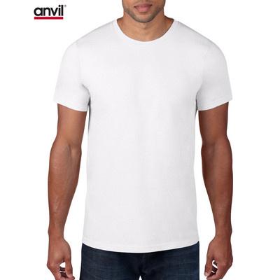 Anvil Adult Lightweight Tee White  (980_WHITE_GILD)