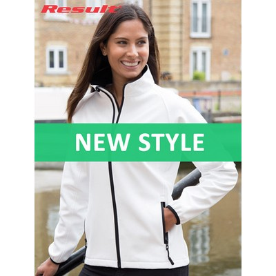 Result Womens Printable Softshell Jacket (R231F_COLOURS_GILD)