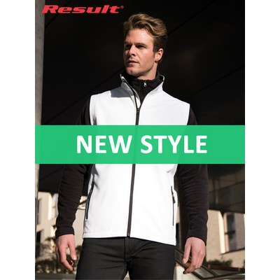 Result Printable Softshell Bodywarmer (R232M_COLOURS_GILD)