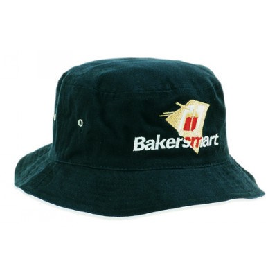 Heavy Brushed Cotton Bucket Hat With Sandwich Trim (4223_HDW)