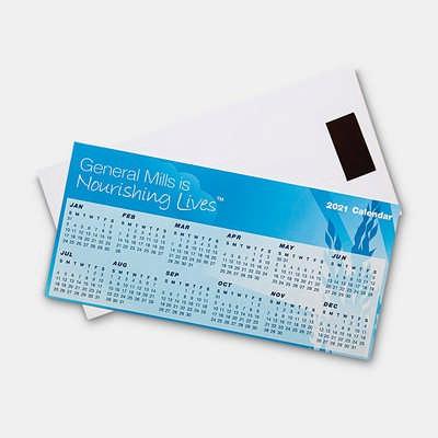 Magnetic Tab Calendar  (CL101_PB)