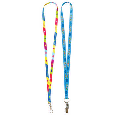 Sublimation Lanyards - 19mm Wide  (L131.19_PB)