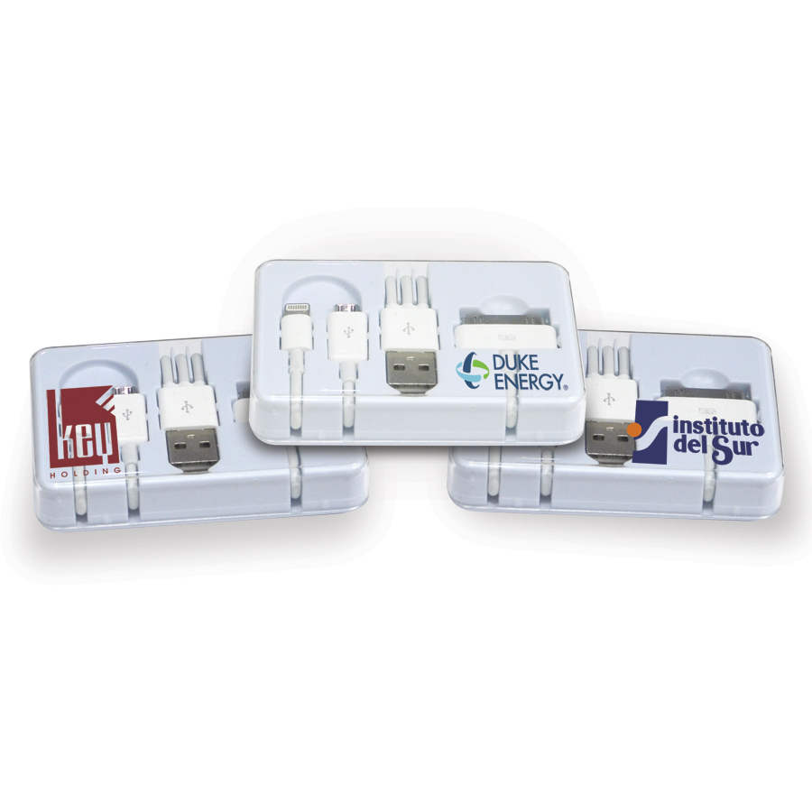 3 in 1 Phone Charger  (NP117_PB)