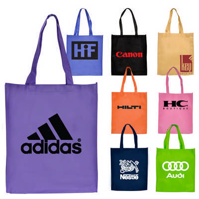 Std Non-Woven ToteBag w Gusset  (RB1008_PB)